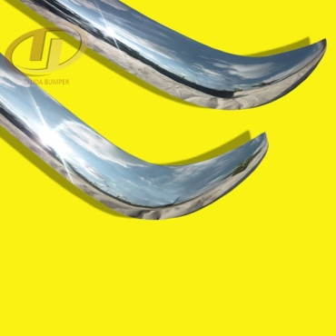 Mercedes Ponton W120 W121 190B 1959-1962 stainless steel bumpers front and rear polished