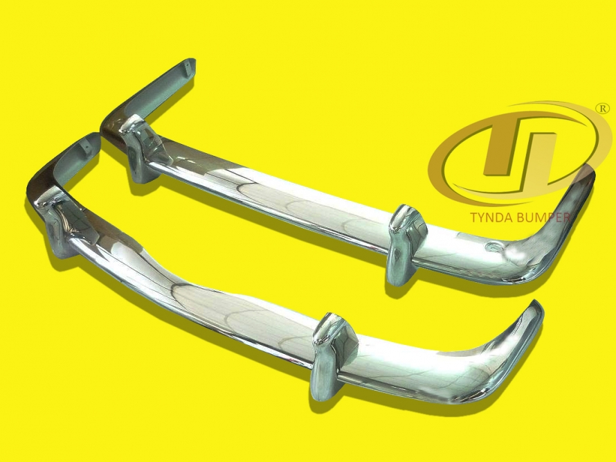 VW Karmann Ghia Type34 1962-1969 stainless steel bumpers front and rear polished